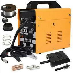 130 AMP Auto Feed FLUX MIG Welding Machine Tool Gas//No GaS WELDER TOOLS 110V HO