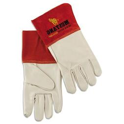 Mustang Mig/Tig Welder Gloves, Tan, Extra Large