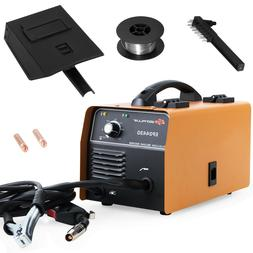 130 MIG Gasless Flux Core Welder Auto Wire Feed w/ Mask Over