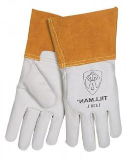 Tillman 1328 Top Grain Goatskin TIG Welding Gloves 4 Cuff, S