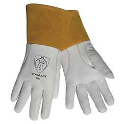 "Tillman 1338 Top Grain Goatskin TIG Welding Gloves with 4"" C"