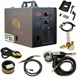 175AMP Mig Welder with FREE Spool Gun, Mask, Aluminum Weldin