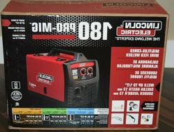 Lincoln Electric 180 Pro Mig Wire Feed Welder K2481-1 NEW