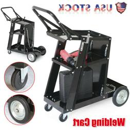 3-Tier Welder Welding Cart Plasma Cutter MIG TIG ARC Univers