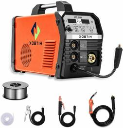 HITBOX 4in1 Welder 200AMP Gas Gasless MIG ARC Lift TIG Inver