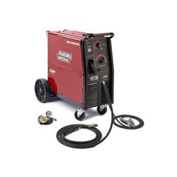 - Lincoln Electric Power MIG 216 230V Flux Cored/MIG Welder