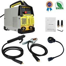 ARC Welding Machine AC DC 200 AMP IGBT Inverter Welder, 110V