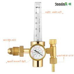 Argon Flowmeter Welding Regulator Gas Values Welding Accesso