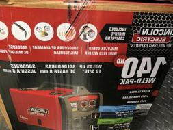 Brand New Lincoln Electric 140HD Weld Pak Mig Wire Feed Weld