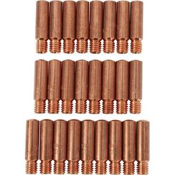 Klutch Contact Tips - 25-Pack.030in, Tweco Style 1