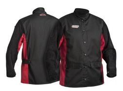 Lincoln Electric Split Leather Sleeved Welding Jacket | Prem