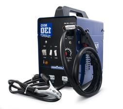 MIG130 WELDER MACHINE 130 AMP With Welding Torch & Accessori