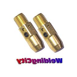 WeldingCity 2-pk Gas Diffusers 54A for Lincoln Magnum 300-40