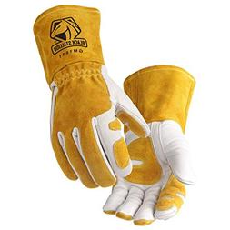 Revco GM1611 Top Grain Leather Cowhide MIG Welding Gloves wi