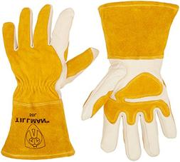 John Tillman and Co 50L Top Grain Leather MIG Gloves with Sp