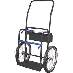 Klutch Hi-Axle Welding Cylinder Cart — 220-Lb. Capacity, P
