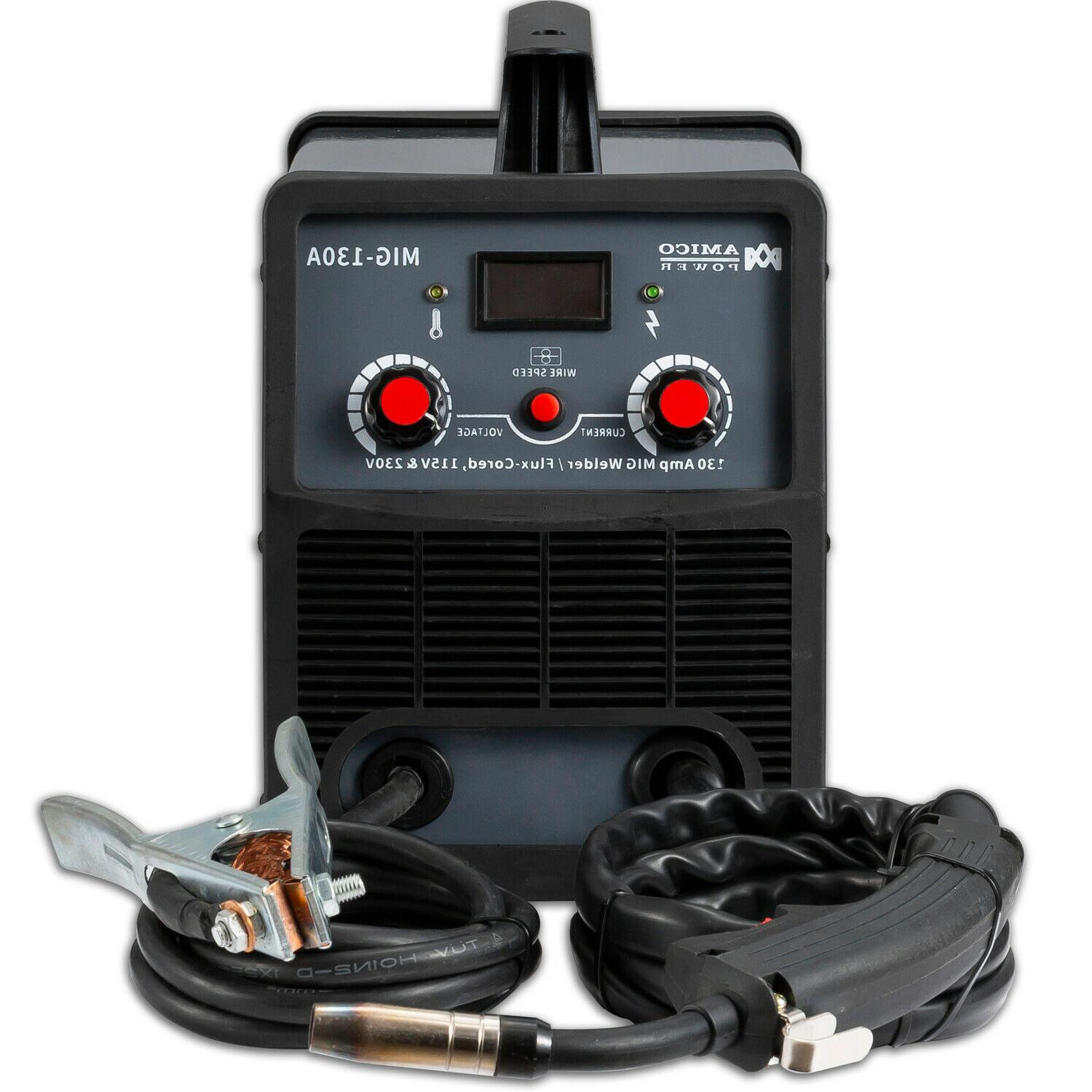 amico mig 130 amp flux core gasless