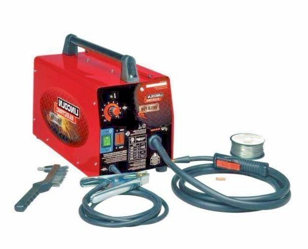 Lincoln Electric Weld Pack HD Feed Steel Wire Welder Flux Ma