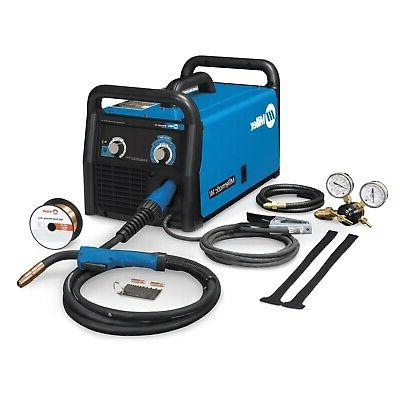 MILLER ELECTRIC 907612 Welder, MIG/Flux Core, Phase 1,90A@18