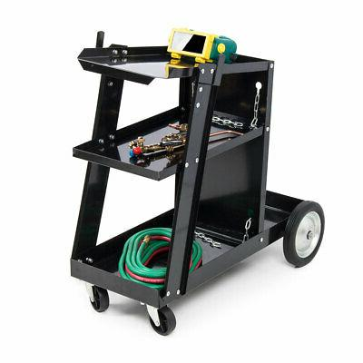 MIG TIG ARC Welder Welding Cart Universal Storage for Tanks