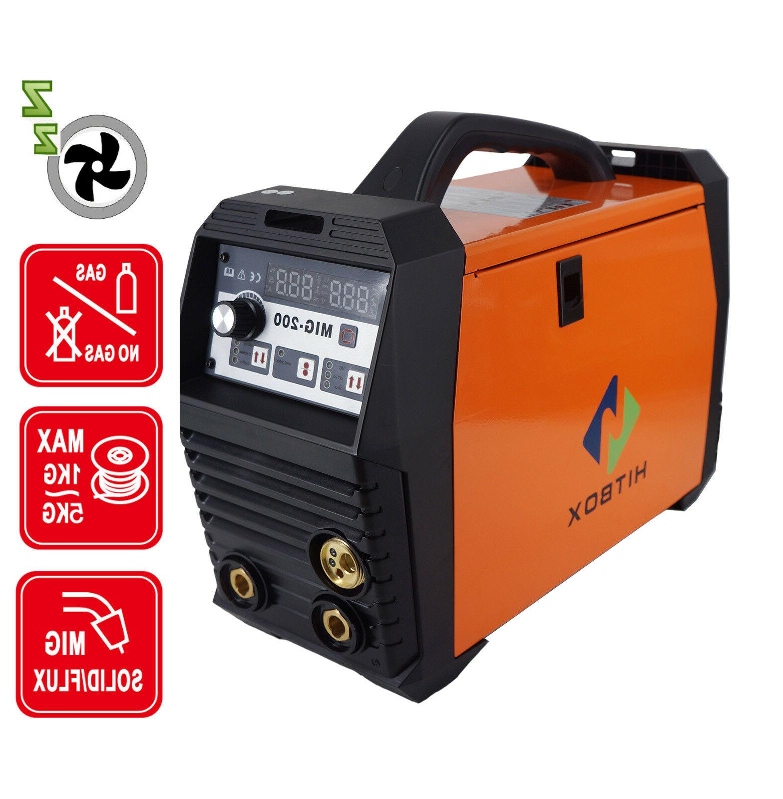 MIG Inverter Gas MAG Welding Machine Gasless MMA Lift TIG
