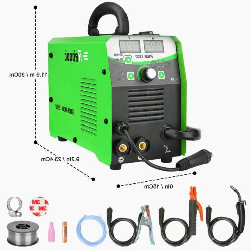 REBOOT 220V 3in1 LIFT TIG ARC Inverter Flux Core Wire Gasles