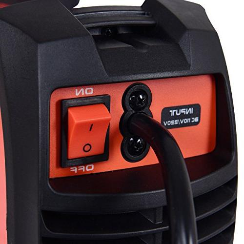 Goplus IGBT Machine AMP 110/220V DC Inverter Welder System w/LED