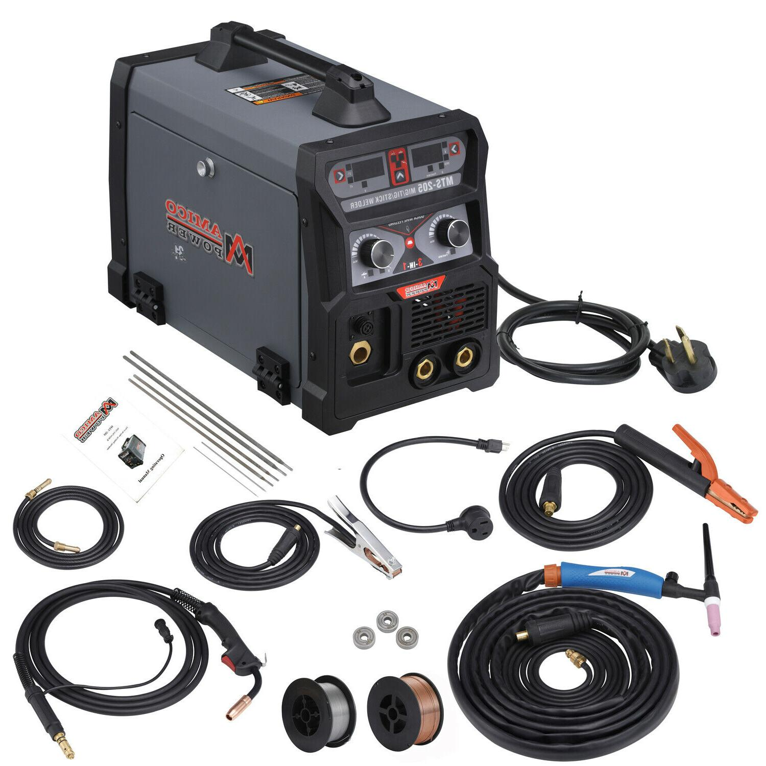 mts 205 amp mig wire feed welder