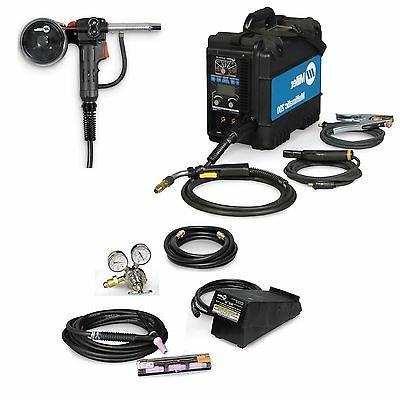 Miller Multimatic 200 MIG, TIG & Stick Welder Pkg w/