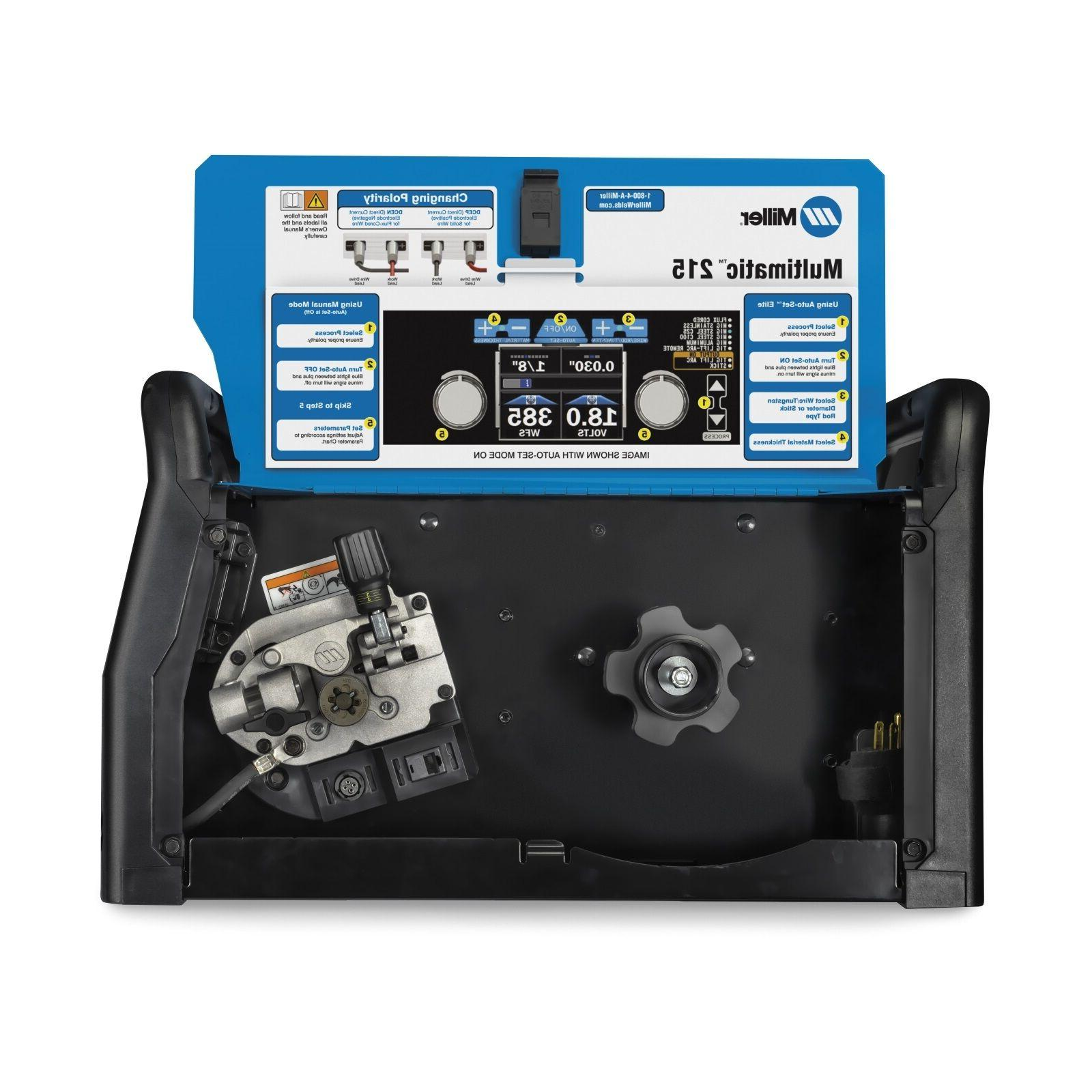 Miller Multimatic 215 Multiprocess Package