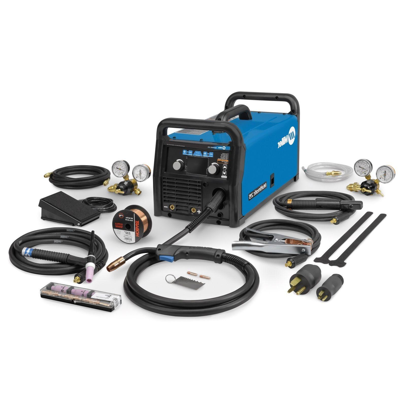 Miller Multimatic 215 Multiprocess Welder with Package