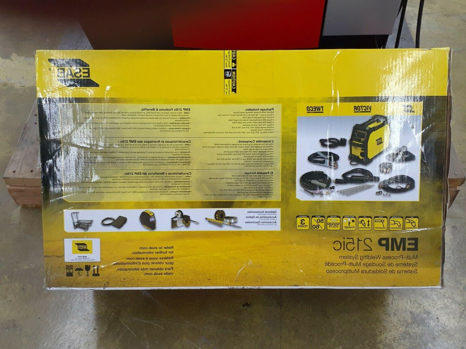 ESAB REBEL WELDING 215ic