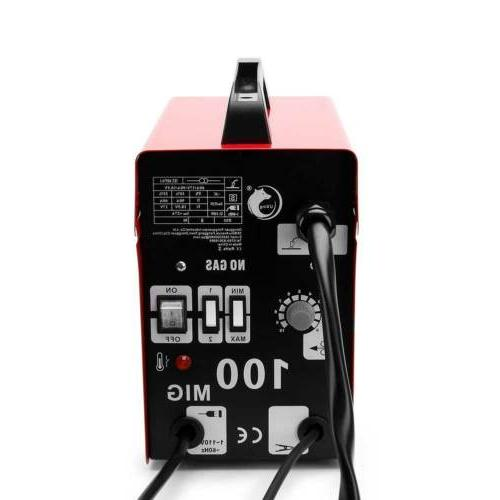 Red Feed Welding Machine with Mask