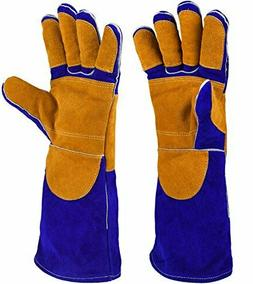 Leather Welding Gloves - For Tig Welders/Mig/Fireplace/BBQ/G