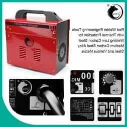 MIG 130 Welder Gas Less Flux Core Automatic Wire Welding Mac