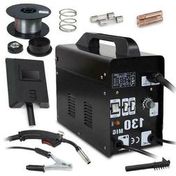 Zeny Mig 130 Welder Gas Less Flux Core Wire Automatic Feed W
