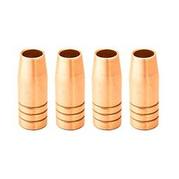 Lotos MIG Nozzle Consumables 4pc MA04 Torch Tip Replacements