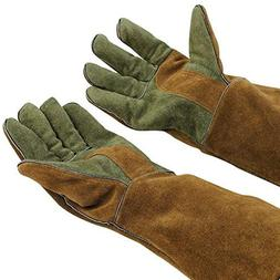 Mig/Stick Welding Gloves,Pure Leather Heat & Fire Resistant