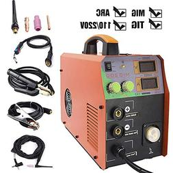 TOSENBA MIG/TIG/ARC Welder 3 in 1 Welding Machine Dual Volta