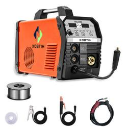 HITBOX MIG Welder 220V 3in1 Gas Gasless Stick MMA Lift TIG M