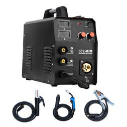 HZXVOGEN 220V MIG Welder IGBT 3IN 1 Stick MMA ARC Lift TIG M