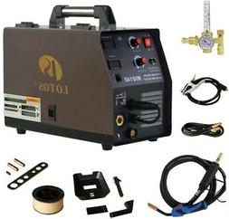 Lotos MIG140 140 Amp MIG Wire Welder Flux Core Welder and Al