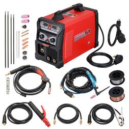 MTS-165 Amp MIG, Flux Cored, TIG, Stick Arc DC Welder, 3-IN-