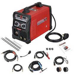 MTS-205, 205 Amp MIG Wire Feed/Flux Core/TIG Torch/Stick Arc