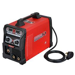 MTS-205 205 Amp MIG/TIG-Torch/Stick Arc Combo Welder, Weld A