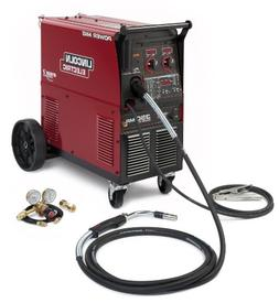 Multiprocess Welder, Power MIG, 5-350 Amps