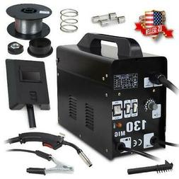 NEW 130 MIG Welder Flux Core Wire Automatic Feed Welding Mac