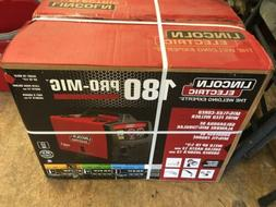 NEW!! Lincoln Electric 180 Pro MIG Flux-Cored Wire Feed Weld