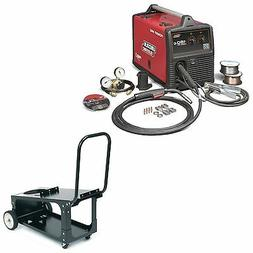 Lincoln Power MIG 180C Welder Pkg. with Economy Cart