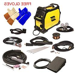 ESAB Rebel EMP 215ic MIG/Stick/Tig Welding Machine w/ Foot C